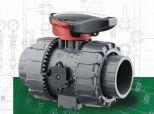 2-drożny zawór kulowy Dual Block®  VKD PVC-U DN10-50