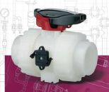 Zawory kulowe DUAL BLOCK® VKD d16-63 mm PVDF