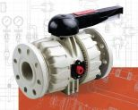 2-drożny zawór kulowy Dual Block®  VKD PP-H DN65-100
